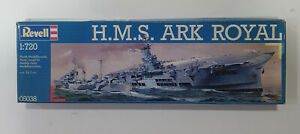 REVELL WW2 H.M.S ARK ROYAL 1:720 plastic model kit UNOPENED