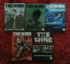 THE WIRE COMPLETE SEASONS 1 - 5 DVD BOXSETS