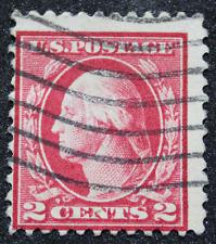 Sello 2 Centavos Washington  USA Scott 500.  Año 1919.   11 perf.