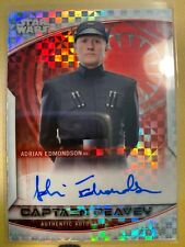 CAPTAIN PEAVEY 2020 Topps Chrome Star Wars Perspectives X-Fractor Auto /99