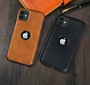 Solid Color PU Leather Phone Case For iPhone