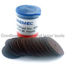 Dremel 409 36x 24mm 0.64mm Metal Cutting Cut-Off Wheels High Speed Rotary Tools
