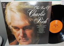 1972 BEST OF CHARLIE RICH EPIC LP #KE-31933 NM-