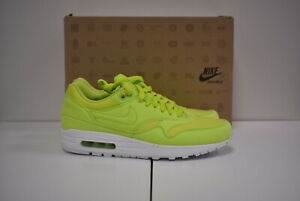 2012 Nike Air Max 1 Ripstop Pack Atomic Green Limited Rare id 308866-331 US 9.5