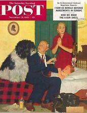 The Saturday Evening Post November 21 1953 Richard Sargent Vintage Americana