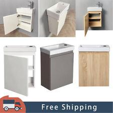 Waschbecken mit Unterschrank Master Waschtisch Badmöbel Set 3 Farben DE