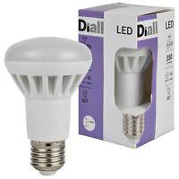 4x 6x 10x Diall E27 8W LED Light Bulb ES Screw Cap Reflector Warm White 15 Year