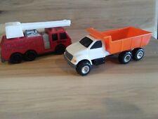 Vintage tonka fire trucks.ertl.bump truck