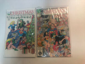 Christmas With The Super/Heroes (1988) #1 & 2 (VF/NM) Complete Set DC