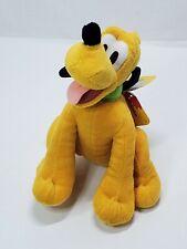 "Disney Junior Mickey Mouse Clubhouse Pluto Dog 9"" Beans Plush Stuffed Animal"