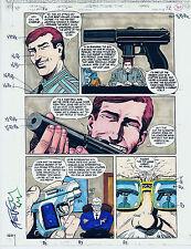 BATMAN SEDUCTION OF THE GUN COLOR PRODUCTION ART SIGNED STEVE MATTSSON COA PG 36
