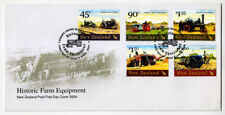 NEW ZEALAND - Scott 1930-1934 - 2004 Historic Farm Equipment FDC