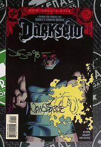Darkseid New Year's Evil #1 1998 DC Signed By John Byrne Jason Pearson VF/NM