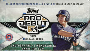2015 Topps Pro Debut Baseball - Pick A Player