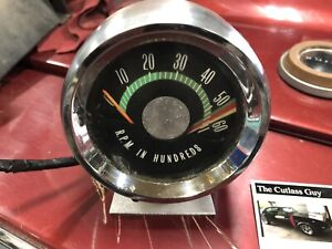 1966 67 Oldsmobile Console 4 Speed Tachometer Tach