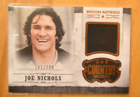 Joe Nichols 2014 Panini Country Music Musician Materials Worn Relic Card #D /399