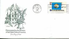 1976 STATE FLAGS MONTANA ARTMASTER CACHET UNADDRESSED FDC