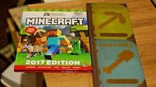 Minecraft 2017 Annual (by GamesMaster) & Beginners & Construction Handbooks
