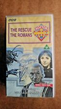 Doctor Who - The Rescue/The Romans (VHS, 1994, 2-Tape Set)