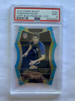 2016-17 Panini Select Christian Pulisic Light Blue Die Cut 55/249 Rc PSA 9 Mint