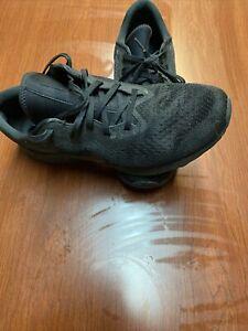 Nike Odyssey React 2 Flyknit Black Men's Running Shoes, Size 12