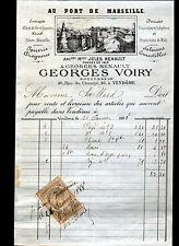 """VENDOME (41) EPICERIE ABSINTHE RHUM """"Jules RENAULT / Georges VOIRY"""" en 1888"""