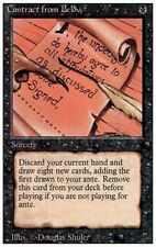 1X Contract from Below - Revised - * Italian, LP FBB * MTG CARD