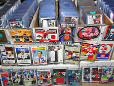 Football Hot Pack Card Lot Auto PATCH Relic Autograph Insert Prizm Optic Panini