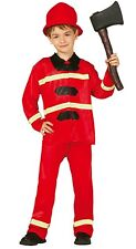 Childrens Fire Fighter Costume
