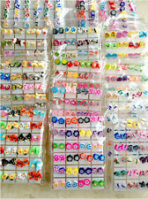 Wholesale Lots 24 Pairs Pretty Polymer Clay Mixed Designs Children's Earrings
