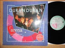 DURAN DURAN Arena - EX/VG+ Cond 1984 Live Vinyl LP - Gatefold Sleeve & Booklet