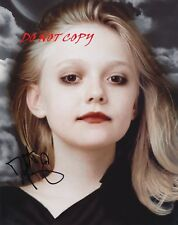 DAKOTA FANNING - TWILIGHT - AUTOGRAPHED PICTURE SIGNED 8X10 PHOTO RP