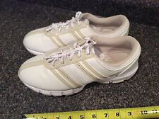 Nike Air Power Channel Traction At Contact (TAC) White Womans Golf Shoes Size 9