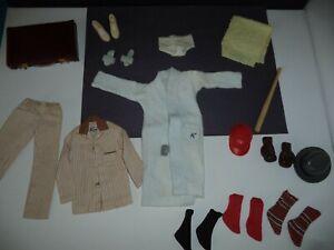 """Barbie """" KEN """" Vintage Black & White Clothing Accessory Lot Near Excellent Lot 7"""
