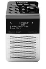NEW Panasonic Portable Bluetooth Digital DAB+ Radio - White