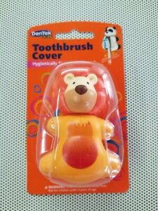Toothbrush Cover DenTek Kids Lion Hygienically Stores Your Child's Toothbrush