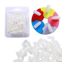 Display Stands Tips Holder 100Pcs Removable Practice False Nail Art Tips Tools
