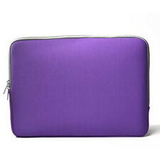"PURPLE Zipper Sleeve Bag Case Cover for All Laptop 13"" Macbook / Pro / Air"