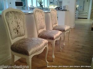 Dining Chair- Hugget Back (or spoonback) - choose paint F&B+ Fabrics