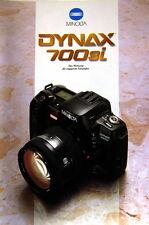 Minolta Dynax 700si Prospekt brochure - (0356)