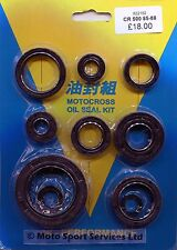 Engine Oil Seal Kit Honda CR 500 CR500 1985 to 1988 Mitaka