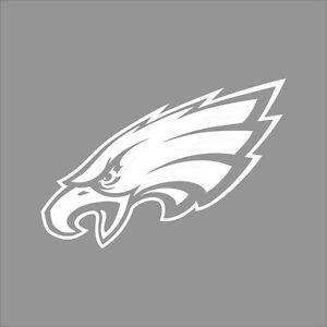 Philadelphia Eagles NFL Team Logo 1Color Vinyl Decal Sticker Car Window Wall