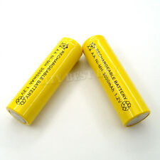 2 AA 2A 3000mAH 1.2V NiMH Recharge Battery Rechargeable