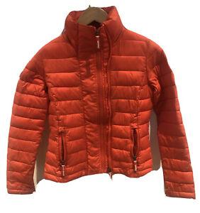 Superdry Womens Puffer jacket  Fuji Double Zip Through Jacket Watermelon  Small
