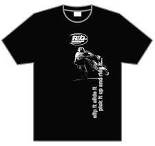 "R&G Racing T-Shirt ""Slip it, Slide it, Pick it up and Ride it"" Black Size Medium"