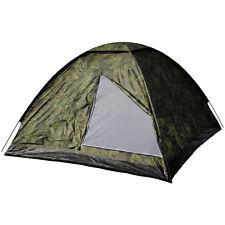 MFH Large 3 Person Monodom Tent Travel Trekking Heavy Duty Czech Woodland Camo