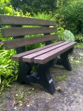 Garden / Park Bench hard wearing Recycled plastic no maintenance 1500mm