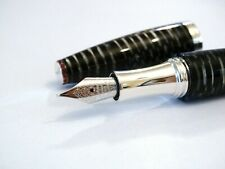 MONTEGRAPPA L.E. (133/200) BEAUTY BOOK LADY FOUNTAIN PEN CELLULOID/SILVER 18K