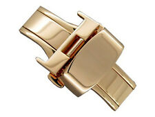 Rose Gold S. Steel Butterfly Deployment Clasp 12mm