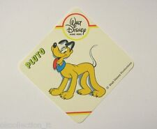 VECCHIO ADESIVO / Old Sticker DISNEY HOME VIDEO PLUTO the Pup (cm 8x8)